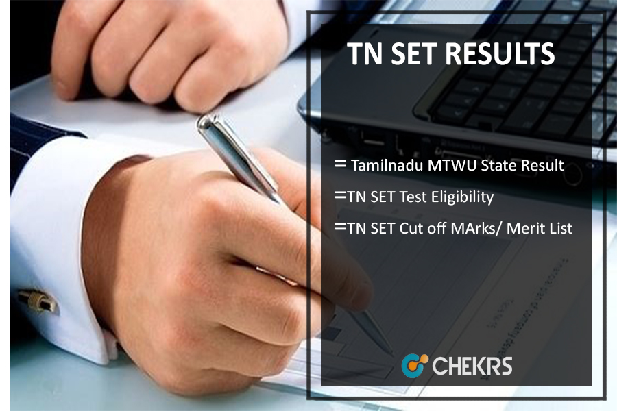 TN SET RESULTS, Tamilnadu MTWU State Eligibility Test Cut Off Marks