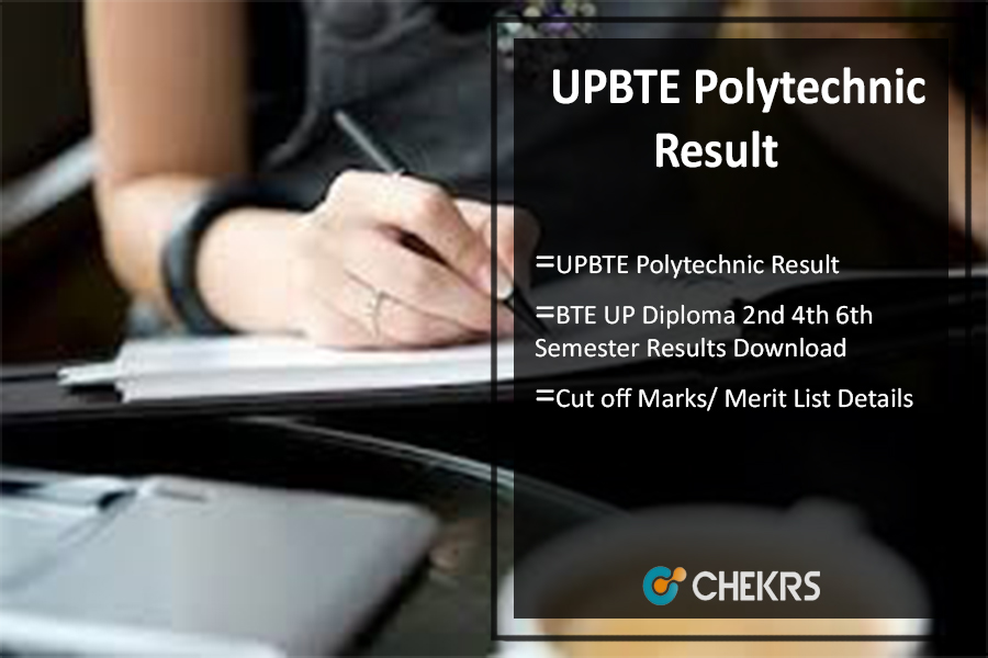 UPBTE Polytechnic Result, BTE UP Diploma 2nd 4th 6th Semester Results @bteupexam.in