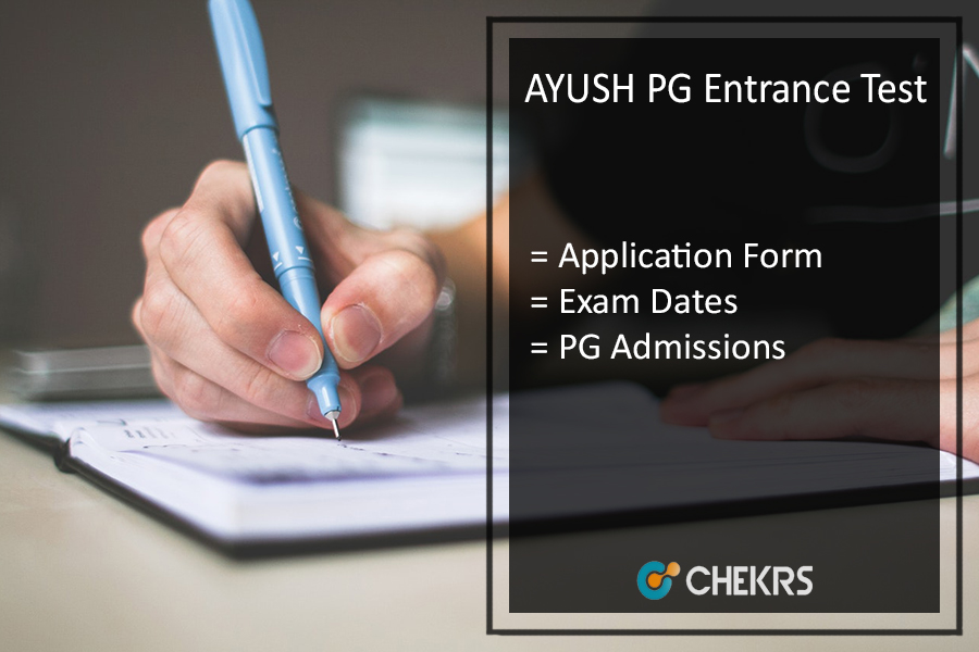 AYUSH PG Entrance Test, AIAPGET Application Form, Exam Dates