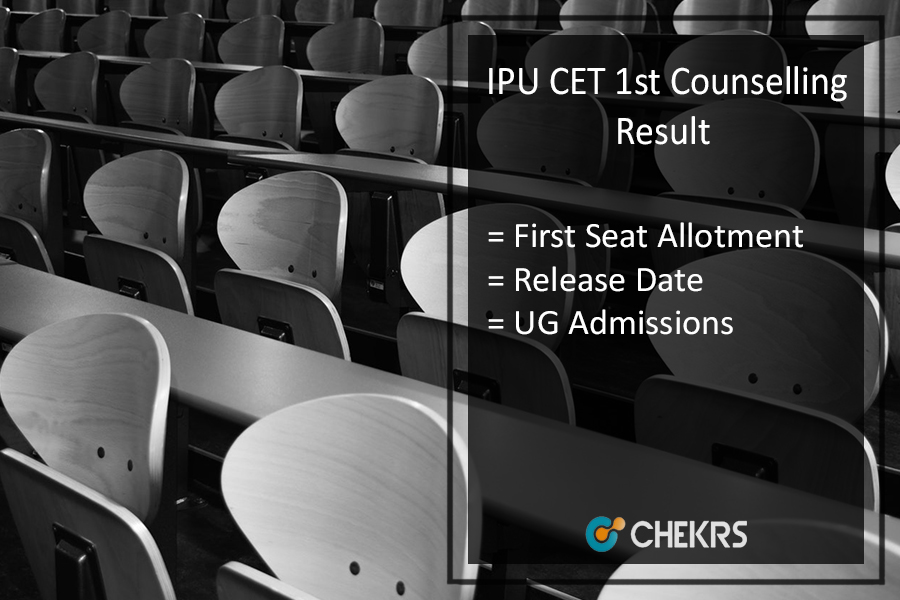 IPU CET 1st Counselling Result - GGSIPU First Seat Allotment Releasing Today