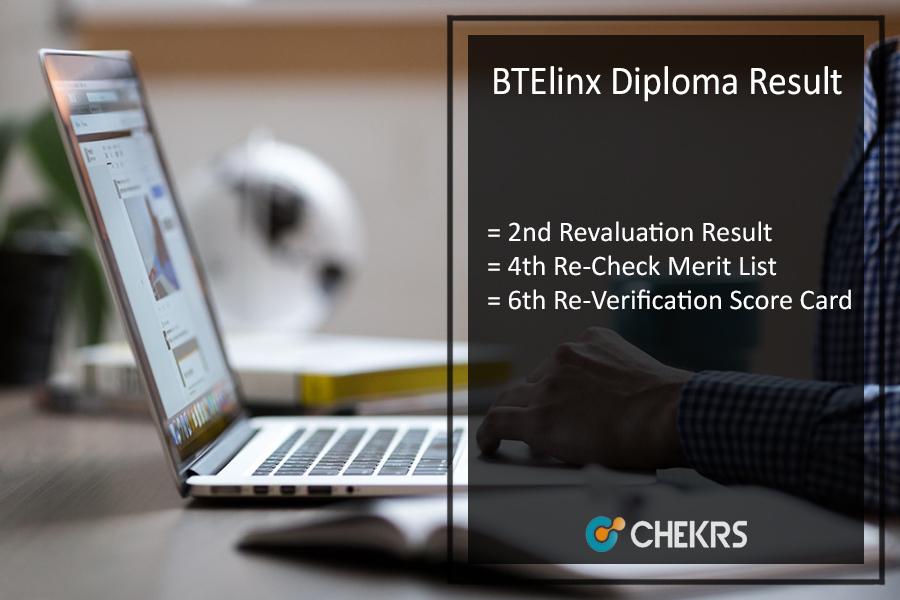 BTElinx Diploma Result - Karnataka 2nd 4th 6th Revaluation Results
