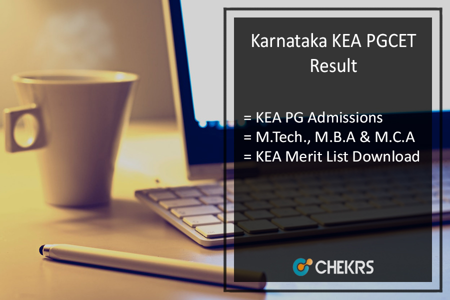 Karnataka KEA PGCET Result - M.Tech MBA MCA @kea.kar.nic.in