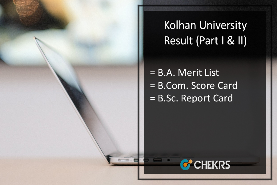 kolhan University Part 1 & 2 Result - BA B.Sc B.Com Results Download