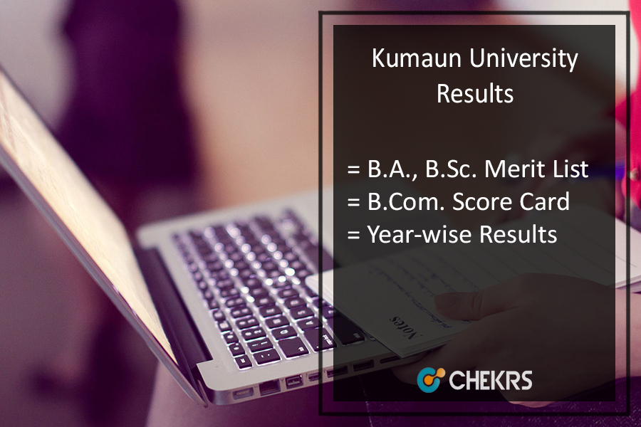 Kumaun University BA BSC BCOM BBA Result - Part 1 2 3 Year Wise Results Releasing