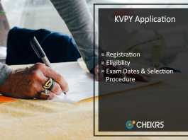 KVPY Application - Registration, Eligibility, Exam Dates, Selection Process