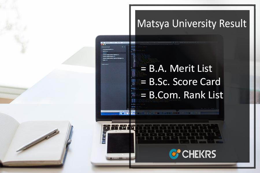 Matsya University Result 2021