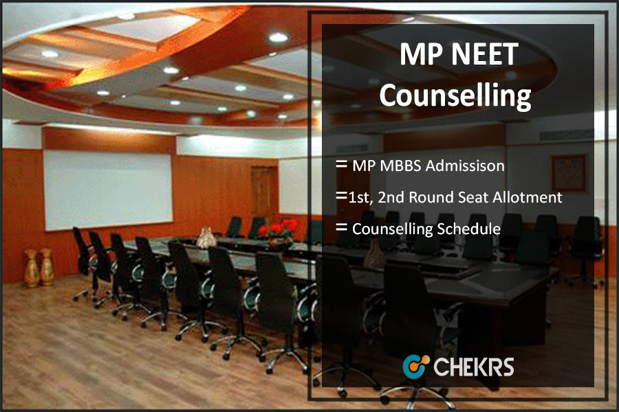 MP NEET MBBS Counselling 2018- 1st & 2nd Round Seat Allotment Result