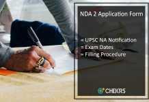 NDA 2 Application Form, UPSC NA Notification, Exam Dates @upsc.gov.in
