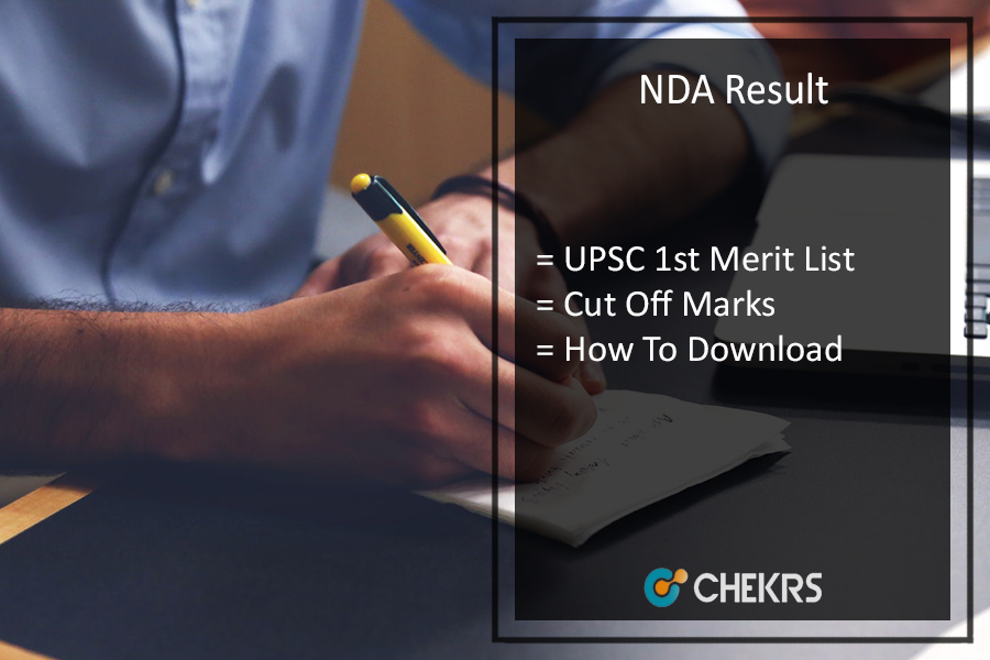 NDA Result, UPSC NDA 1 Merit List, Cut Off Marks Released Today @ upsc.gov.in