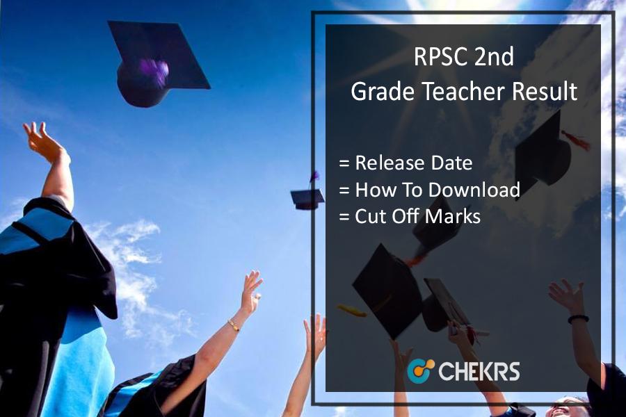 RPSC 2nd Grade Teacher Result - परीक्षा परिणाम इस दिन आयेगा, Cut Off Marks