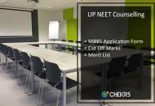 UP NEET Counselling, MBBS Application Form, Cut Off Marks, Merit List