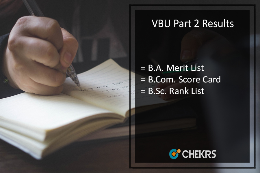VBU Part 2 Results - vbu.ac.in Hazaribag BA BSC BCOM Results Download
