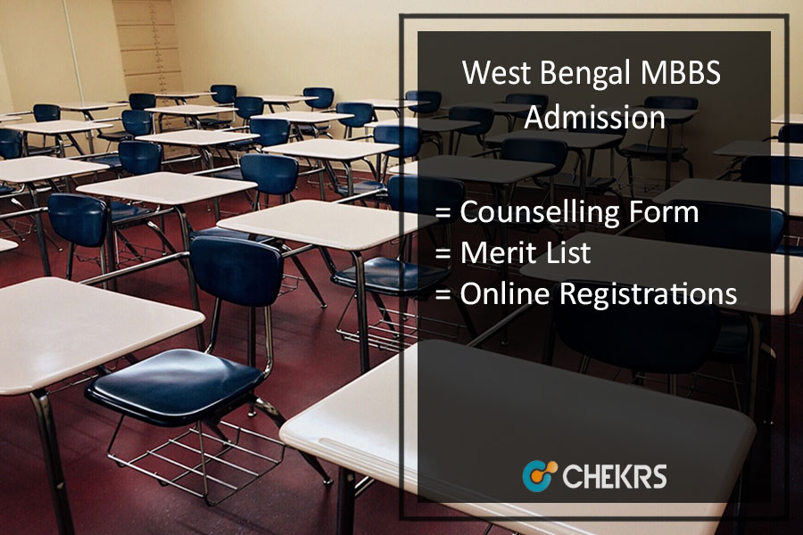 West Bengal MBBS Admission - Counselling Form, Merit List @wbmcc.nic.in