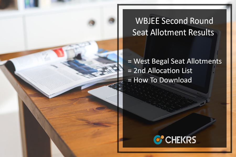 WBJEE Second (2nd) Round Seat Allotment Results, Counselling Result