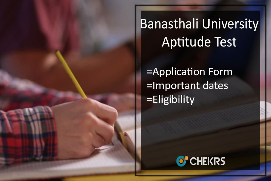 Banasthali University Aptitude Test (BUAT) - Registration, Exam Date