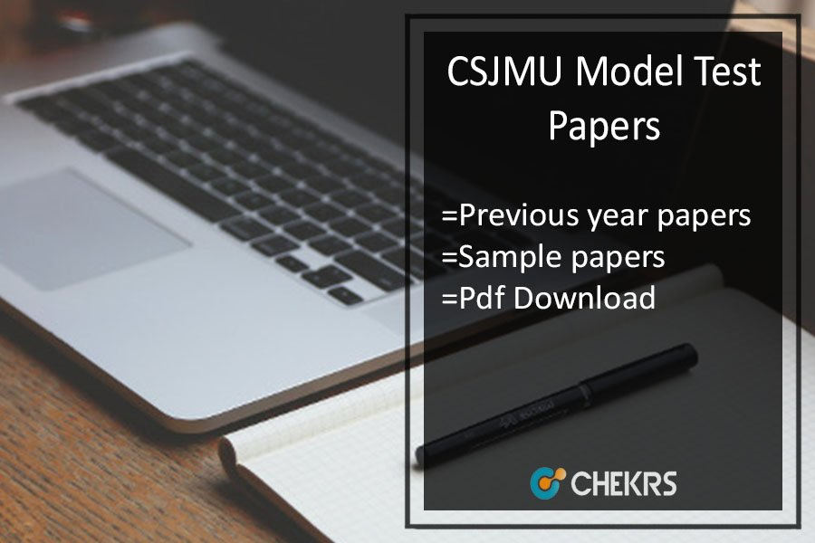 Kanpur University Model Paper - UG PG Previous Year/ Sample Papers