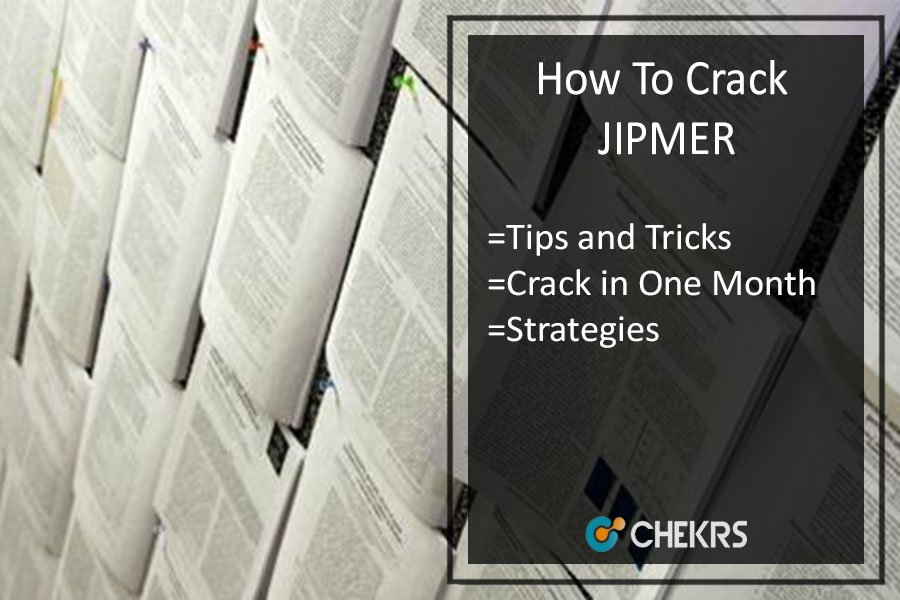 How To Crack JIPMER | One Month Preparation Tips for JIPMER PG