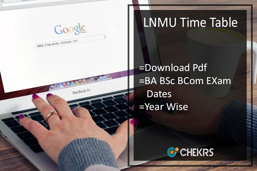 LNMU Time Table - Part 1 2 3 Exam Date Sheet, Schedule