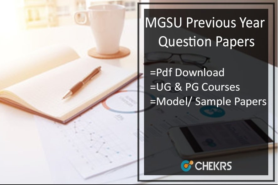 MGSU Previous Year Question Papers - Bikaner University Model Papers