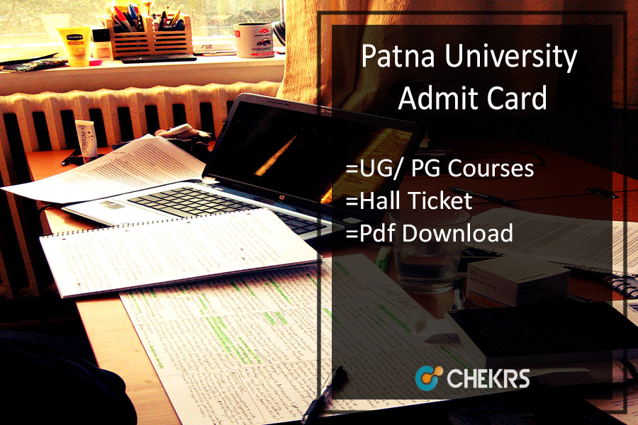 Patna University Admit Card - Download UG PG Hall Ticket
