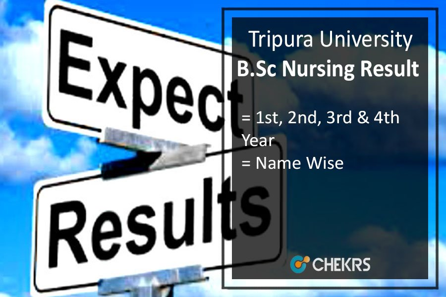 Tripura University B.Sc Nursing Result - 1st 2nd 3rd 4th Year