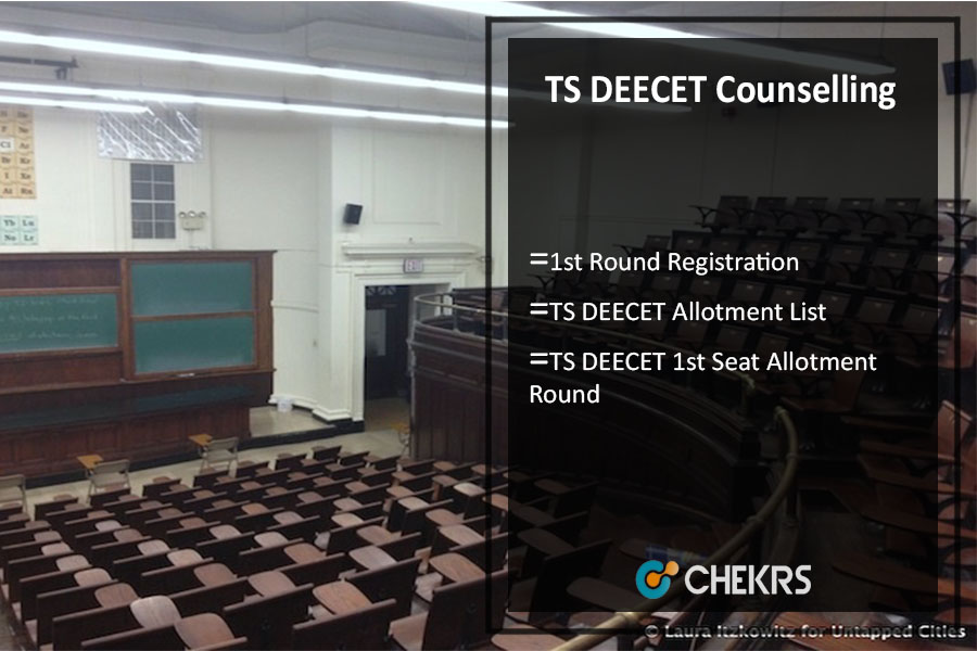 TS DEECET Counselling ,1st Round Registration, Allotment List