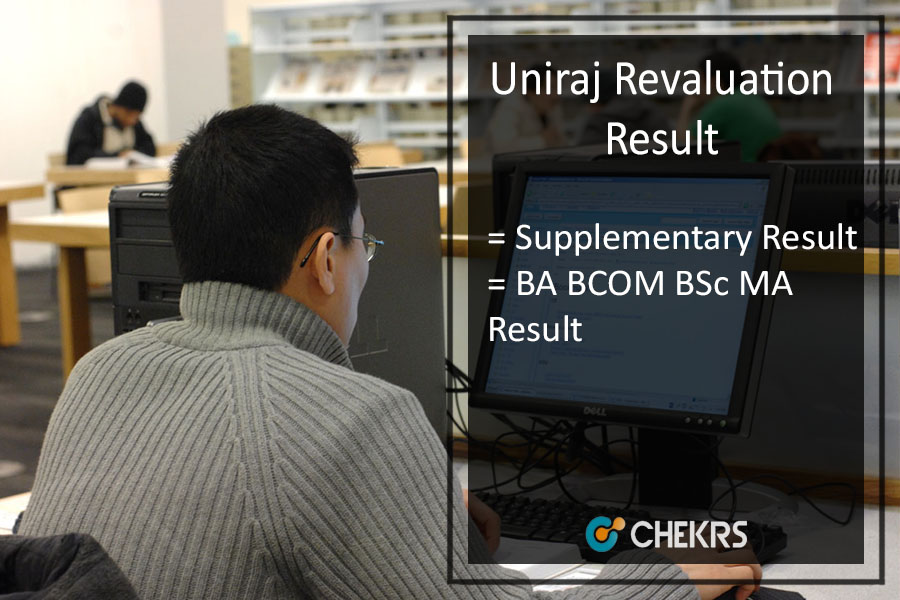 Uniraj Revaluation Result - RU BA B.SC B.COM MA Supplementary Results