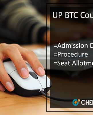 UP BTC Counselling - Admission Dates | Procedure | Seat Allotment