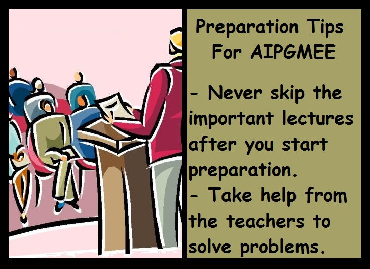 AIPGMEE Preparation Tips-Lessons