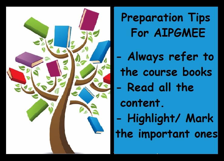 AIPGMEE Preparation Tips-Study Material