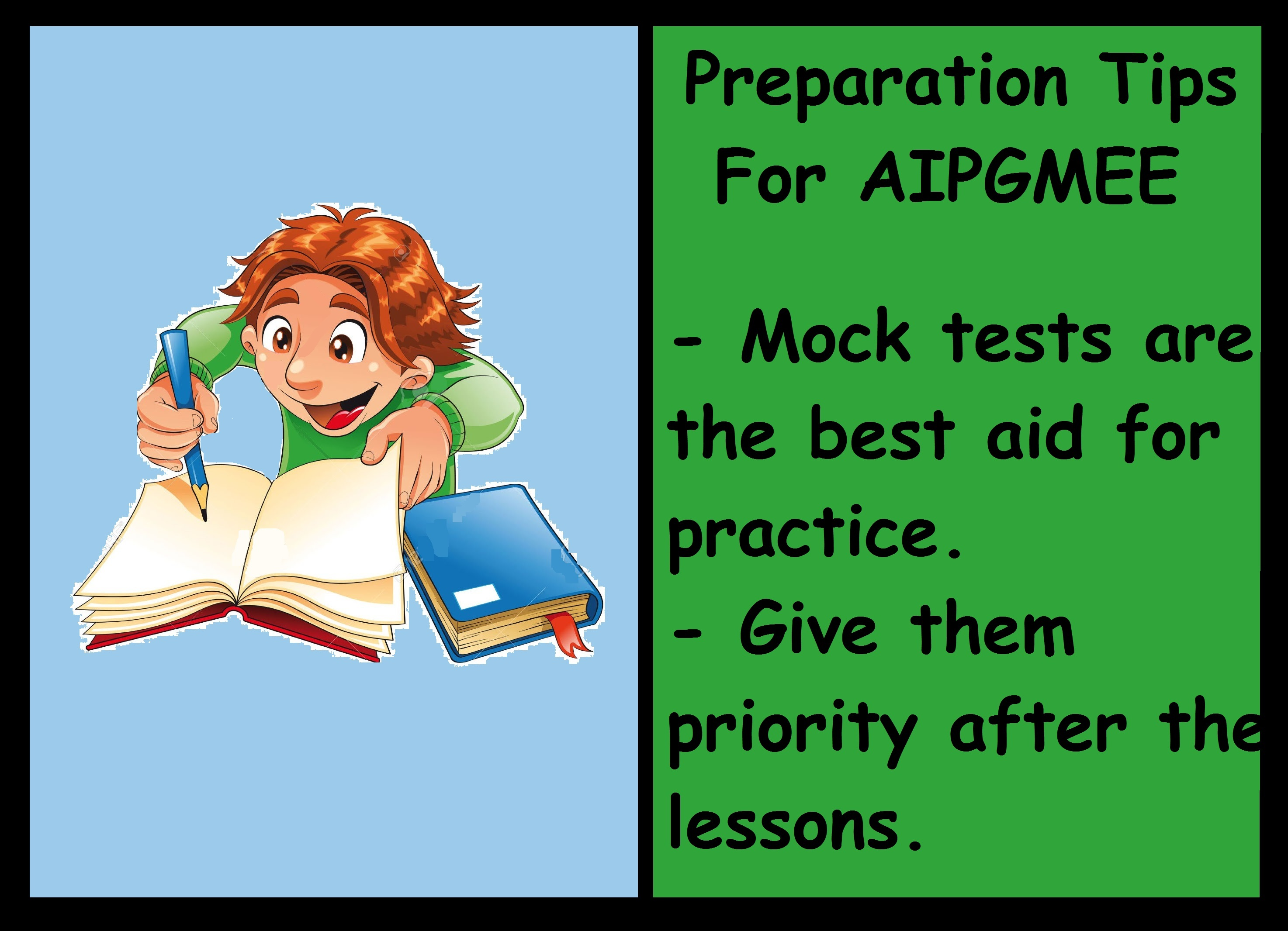 AIPGMEE Preparation Tips-Take Tests