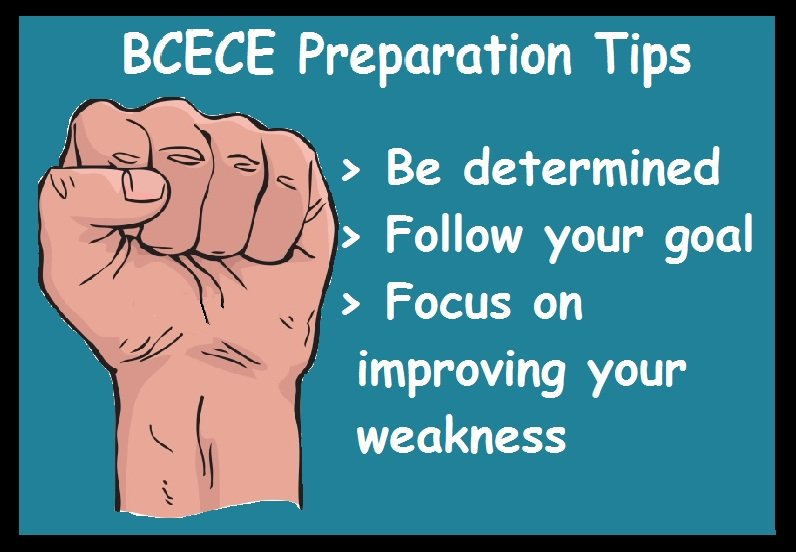 BCECE Preparation Tips- Determined