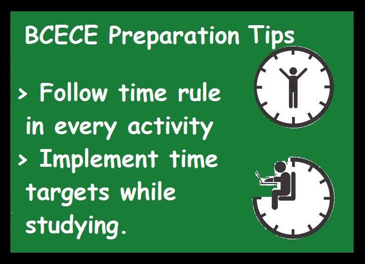 BCECE Preparation Tips- Time Management