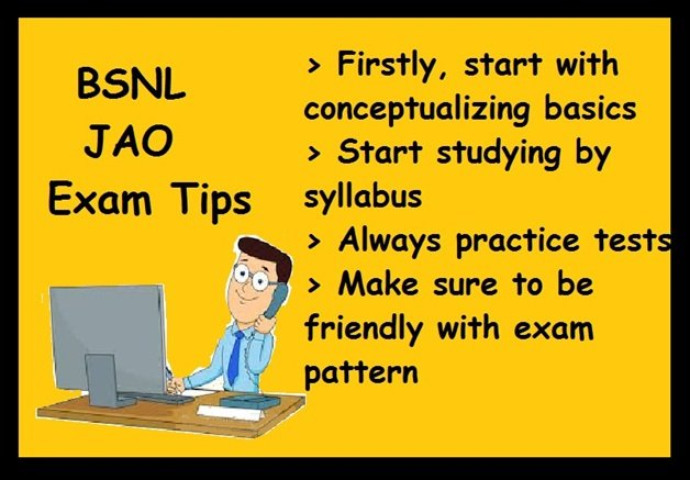 How To Prepare for BSNL JAO Exam- Tips, Books, Material
