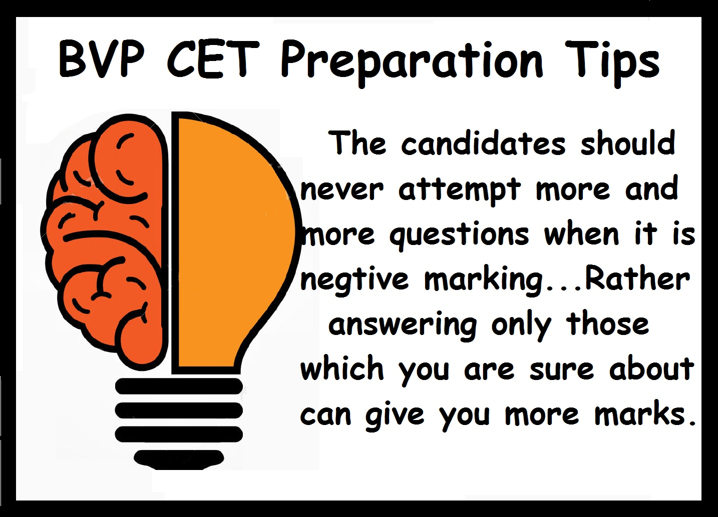 BVP CET Preparation Tips-Review sample papers