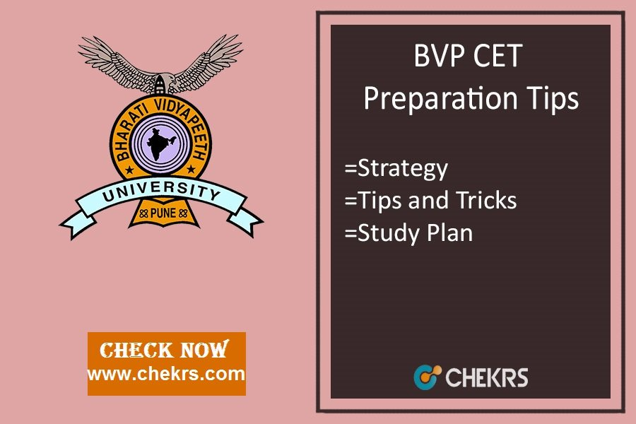 How To Prepare for BVP CET- Law, Medical, Engg Exam Tips, Strategy