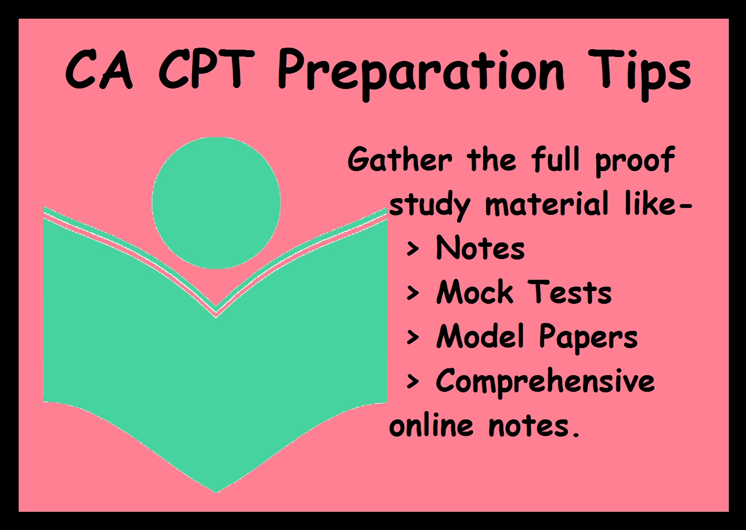 CA CPT Preparation Tips- Study Material