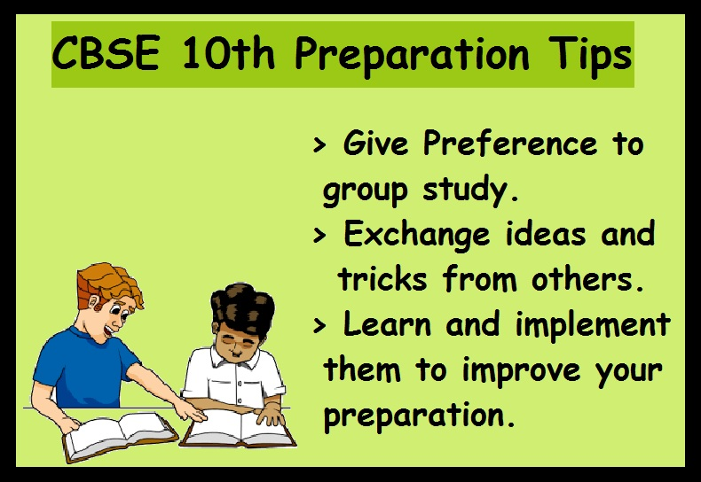 CBSE 10th Boards Preparation Tips- Group Study