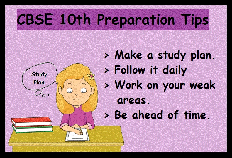 CBSE 10th Boards Preparation tip-Plan Schedule