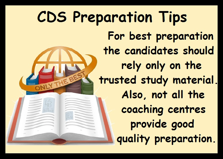 CDS Preparation Tips-Study Material