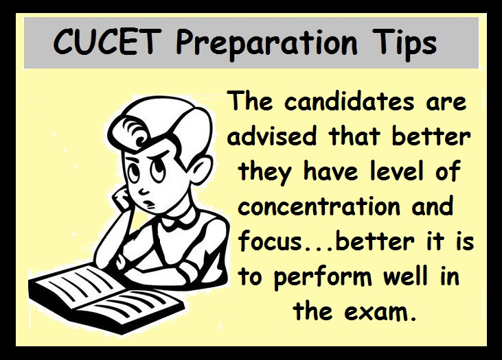 CUCET Preparation Tips- Concentrate