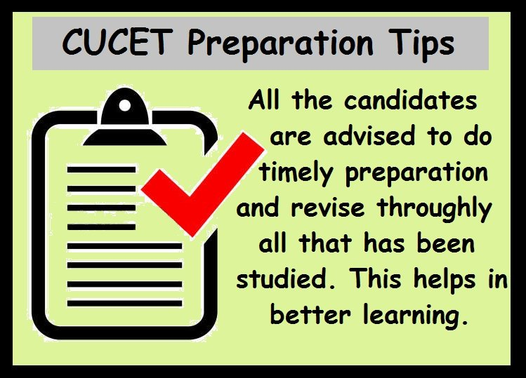CUCET Preparation Tips- Revision