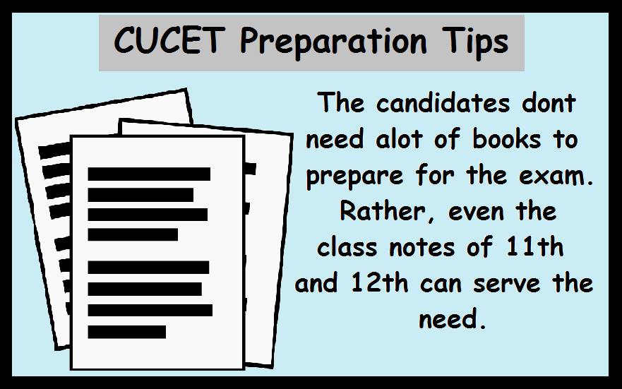 CUCET Preparation Tips- Study Material