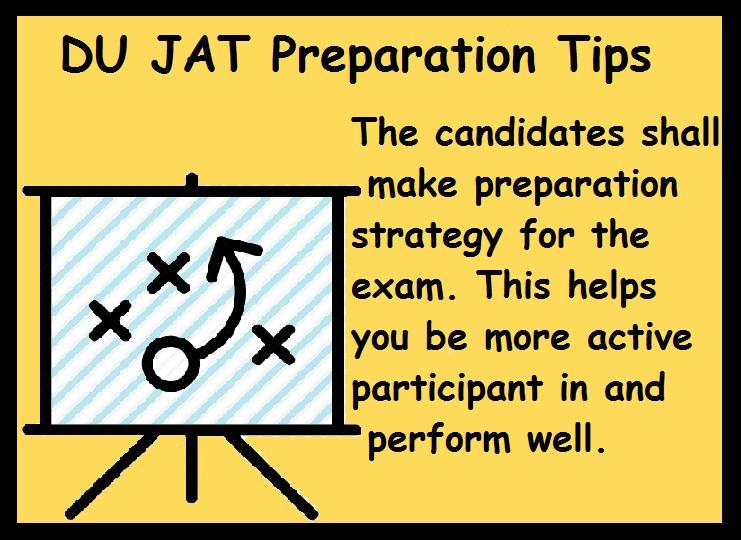 DU JAT Preparation Tips- Make Strategy