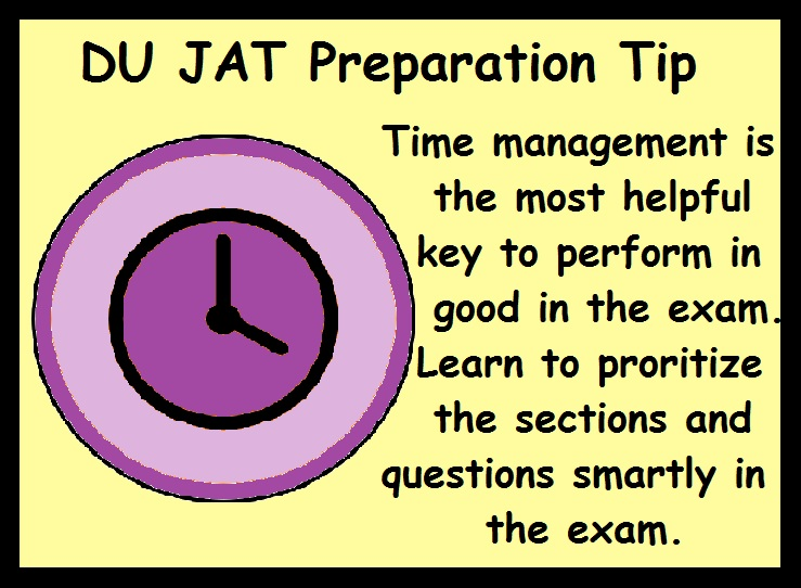 DU Preparation Tips- Manage Time