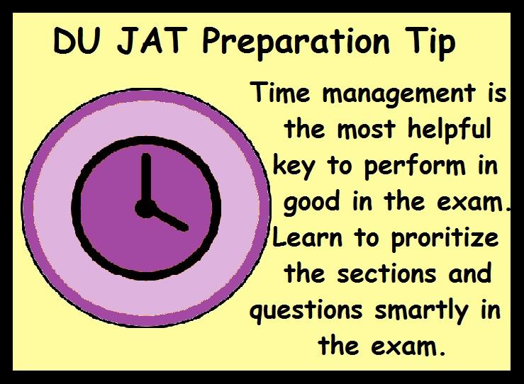 DU Preparation Tips- Manage Time