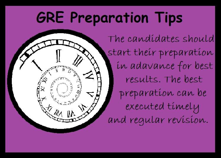 GRE Preparation Tips-Advance Studies