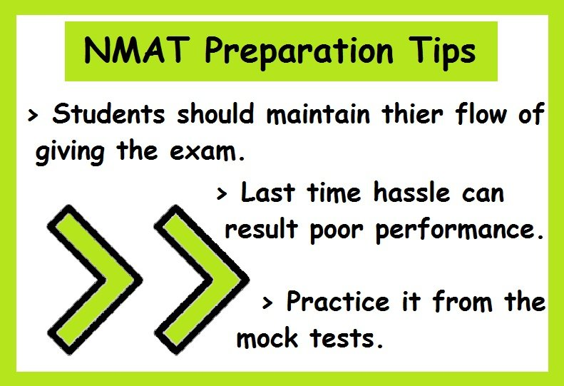 NMAT Preparation Tips- Be Consistent