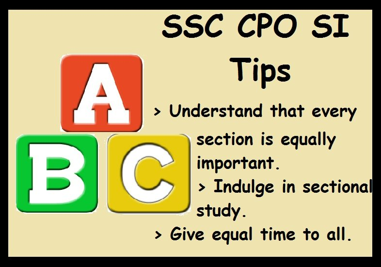 How To Prepare for SSC CPO- SI Tips To Crack Exam, Strategy