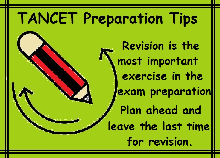 TANCET Preparation Tips-Revision